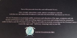 Tell Every Amazing Lady® (set of 10 ) Blank Holiday Greeting Cards