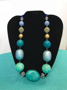 T.E.A.L.® One of a Kind Beaded Necklace