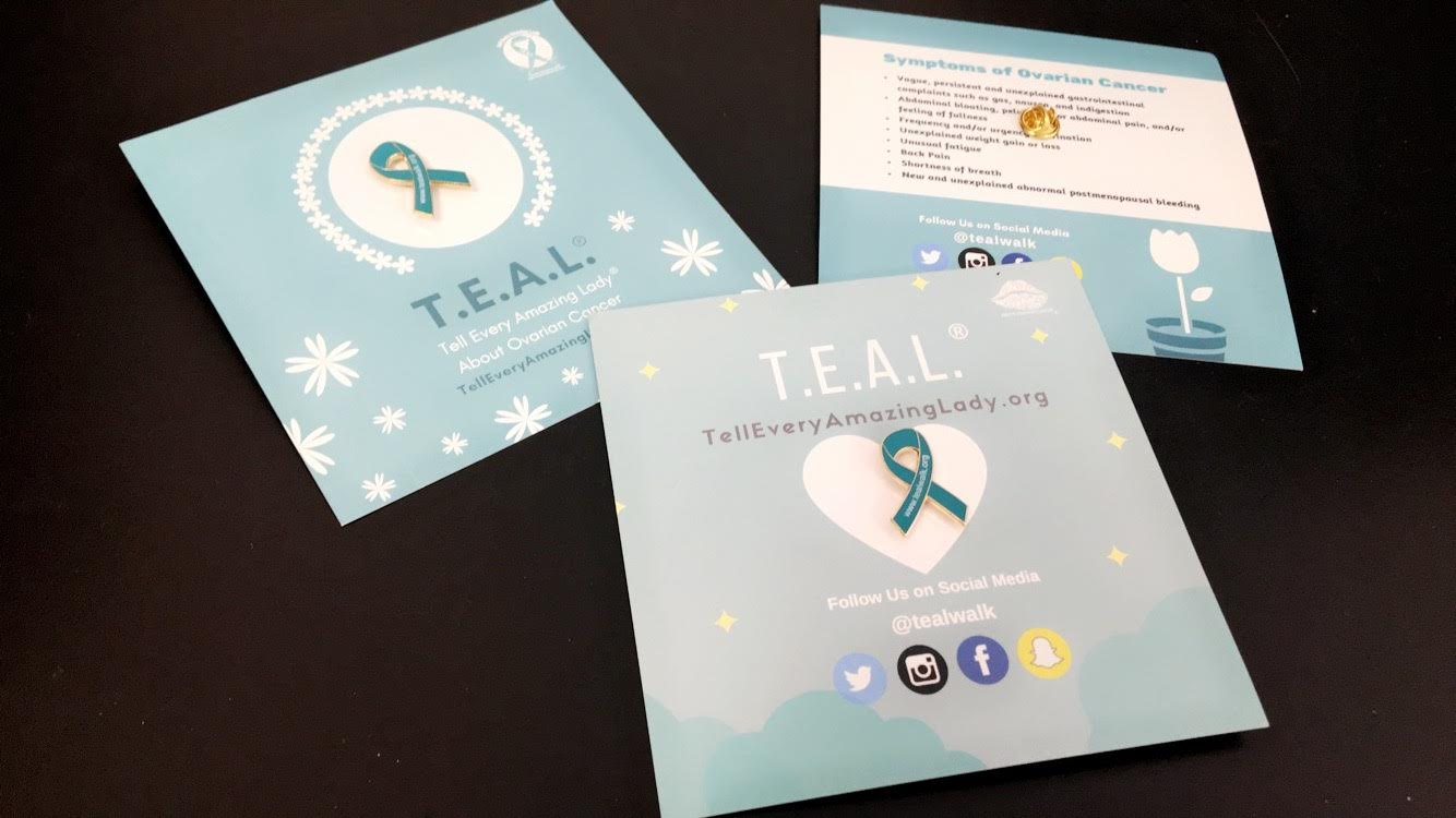 Tell Every Amazing Lady® Pin Package – T.E.A.L.® Walk | Tell Every Amazing  Lady®