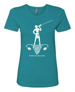 T.E.A.L.® Ovary Graphic Fitted Tee – Teal