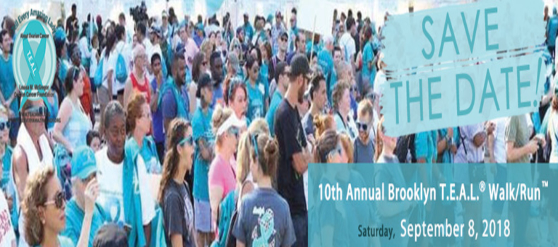 Registration is Open for the 10th Annual Brooklyn T.E.A.L.® Walk/Run™!