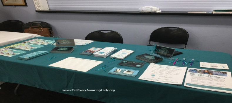 T.E.A.L.® Youth Ambassador spreads awareness of ovarian cancer