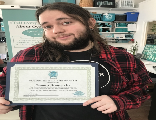 Tommy is T.E.A.L.®'s Volunteer of the Month