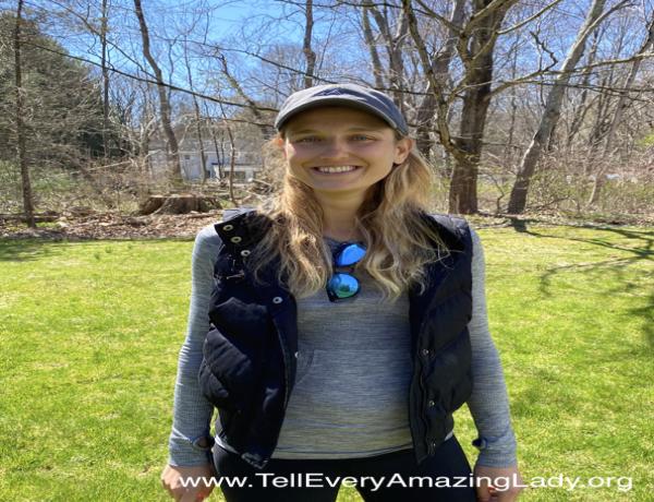 2020 TCS New York City Marathon runner for team Tell Every Amazing Lady®: Kathryn