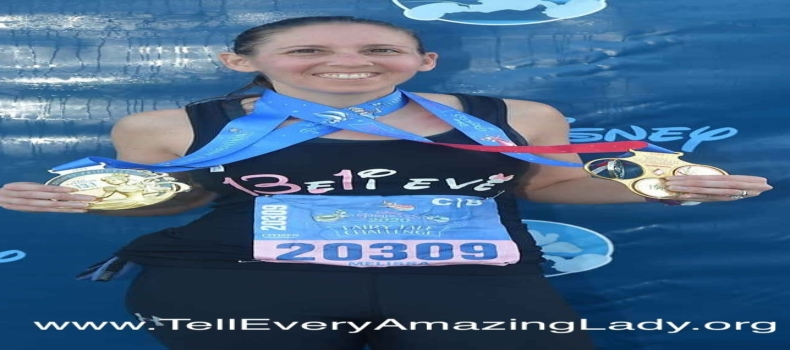 2020 TCS New York City Marathon runner for team Tell Every Amazing Lady®: Melissa