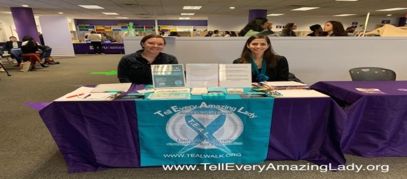 T.E.A.L.® Staff Attend NYU fair and speak on podcast
