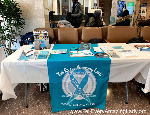 T.E.A.L.® teaches about ovarian cancer at 'Rare Disease Day' event