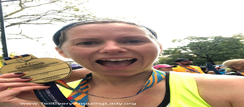 T.E.A.L.® Runners for the 2020 United Airlines NYC Half: Adrienne