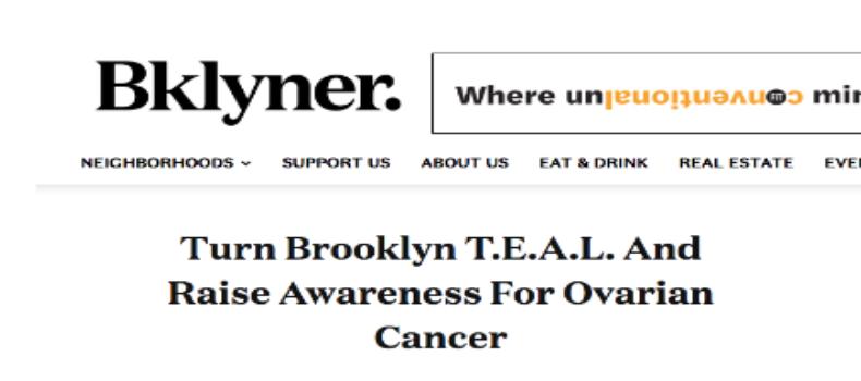 Digital Bklyner features T.E.A.L.®