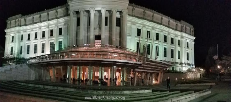 T.E.A.L.® lights the Brooklyn Museum Lobby Teal!