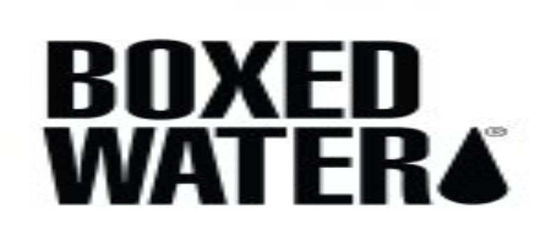 National Boxed Water Sponsorship