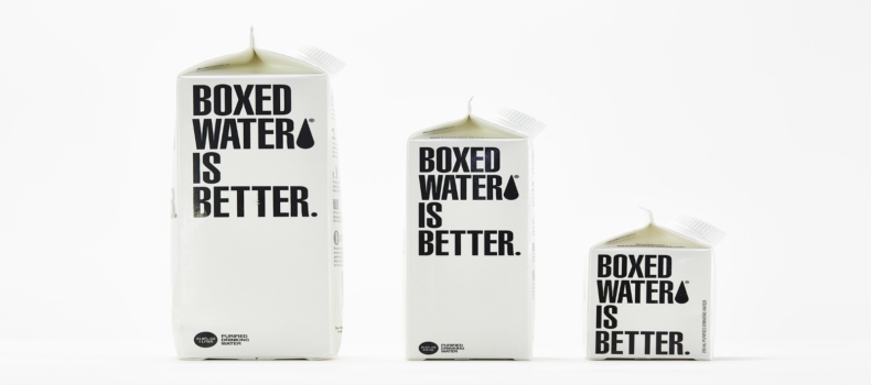 T.E.A.L.®'s National Boxed Water Sponsorship