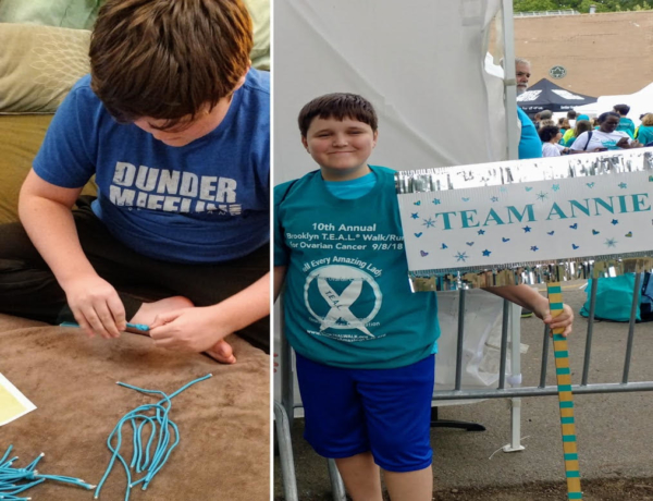 Young Boy Makes Bracelets In Remembrance of Late Aunt