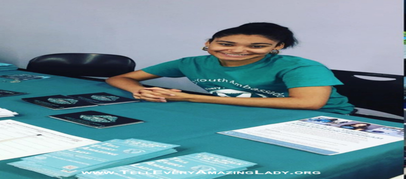 T.E.A.L.® Youth Ambassador spreads word about ovarian cancer
