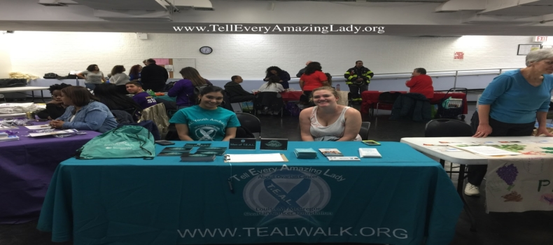 T.E.A.L.® Youth Ambassador at Bronx House for a Community Health Fair
