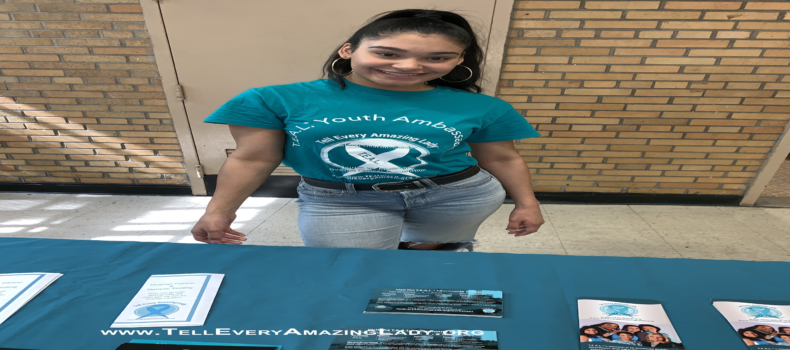 T.E.A.L.® Youth Ambassador spreads message to Bronx community