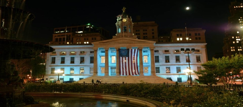 Annual Press Conference & Lighting of Brooklyn Borough Hall