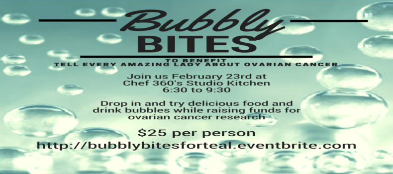 Bubbly Bites Event