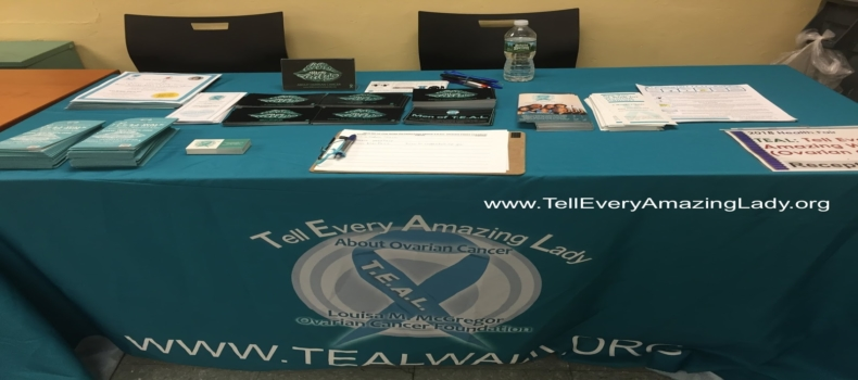 T.E.A.L.® at the Office of Adult & Continuing Education Health Fair in Manhattan