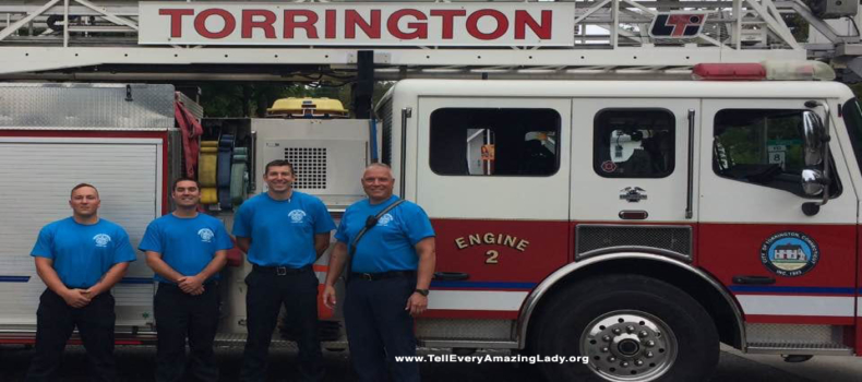 Firefighters show support for T.E.A.L.®