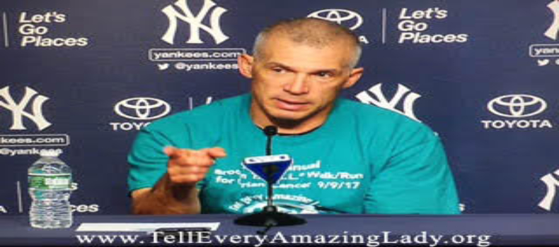 Yankees Manager Joe Girardi speaks about T.E.A.L.® at Press Conference
