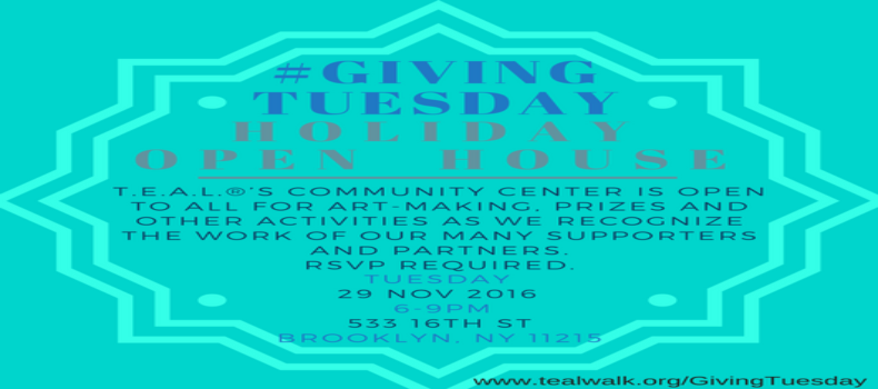 #GivingTuesday Holiday Open House