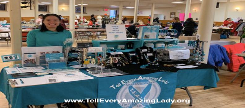T.E.A.L.® Shop and raising awareness at a holiday fair