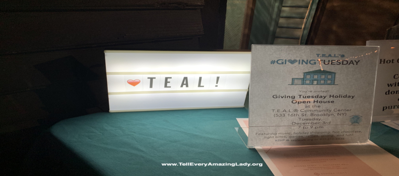 T.E.A.L.® celebrates Giving Tuesday with Holiday Open House