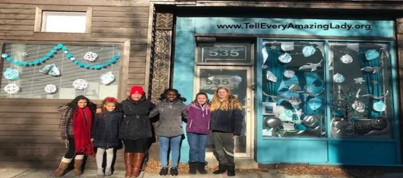 Check out T.E.A.L.® & SJWCA's new Holiday windows!