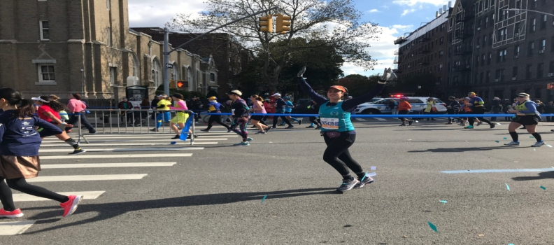 Team Tell Every Amazing Lady® in 2020 TCS New York City Marathon
