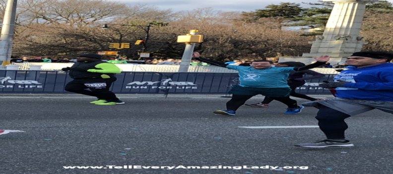 Team Tell Every Amazing Lady® in the 2019 United Airlines New York City Half Marathon