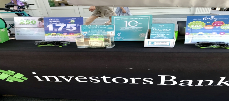 Investor's Bank in Brooklyn Joins the T.E.A.L. September Awareness Campaign