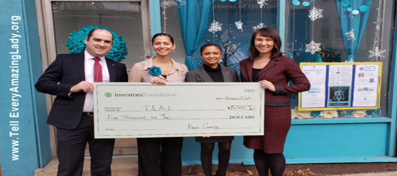 Investors Foundation Awards Grant to T.E.A.L.®