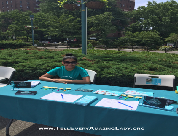 T.E.A.L.® Youth Ambassador raises awareness in the Bronx