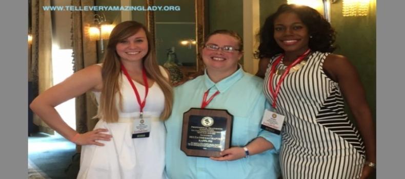 Kappa Psi-Delta Omega Fraternity Award