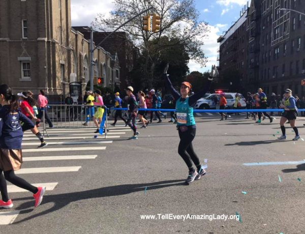 Team Tell Every Amazing Lady® makes TCS New York City Marathon debut