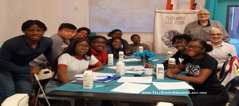 Flatlands Leos visit T.E.A.L.®