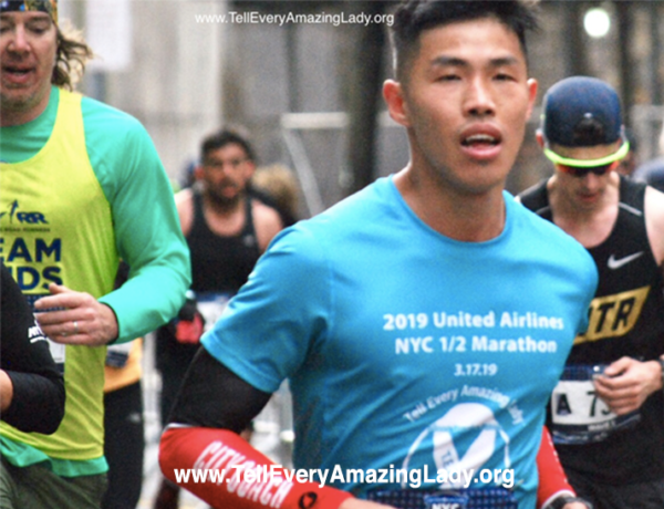 Team Tell Every Amazing Lady® official 2020 United Airlines NYC Half participant