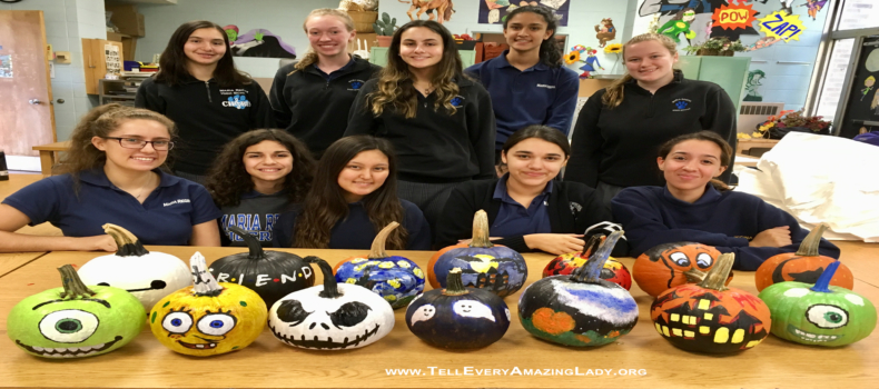 Students raise funds for T.E.A.L.® through art projects