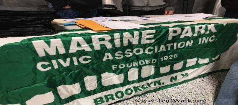 Marine Park Civic Association supports T.E.A.L®