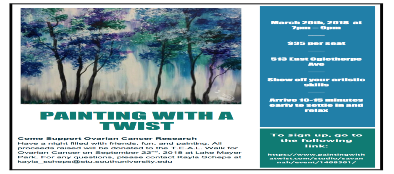 T.E.A.L.® Painting with a Twist in Savannah, GA