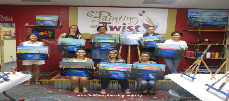 Savannah supporters paint for T.E.A.L.®