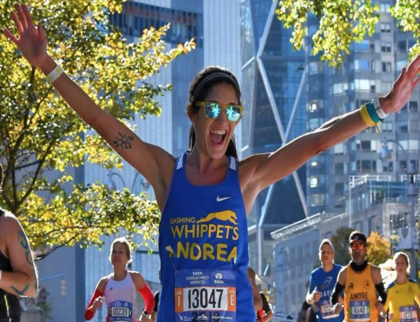 T.E.A.L.® RUNNERS FOR THE 2019 UNITED AIRLINES NYC HALF: ANDREA