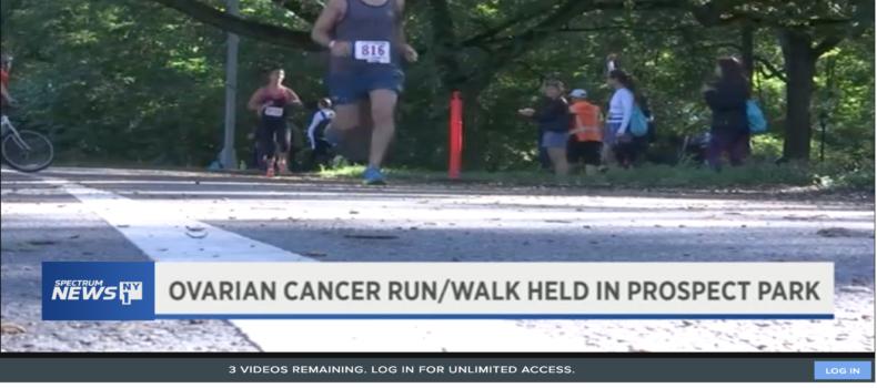 NY1 News features the 11th Annual Brooklyn T.E.A.L.® Walk/Run