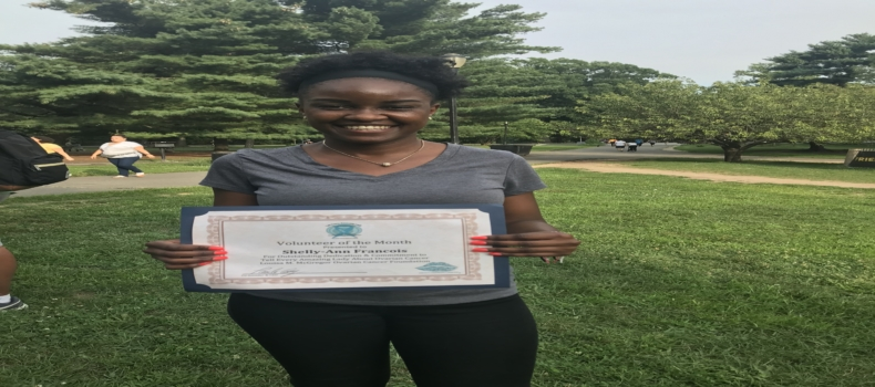 Shelly-Ann is T.E.A.L.®'s Volunteer of the Month