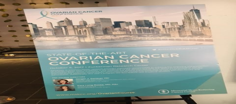 Ovarian Cancer Conference at Memorial Sloan Kettering Cancer Center