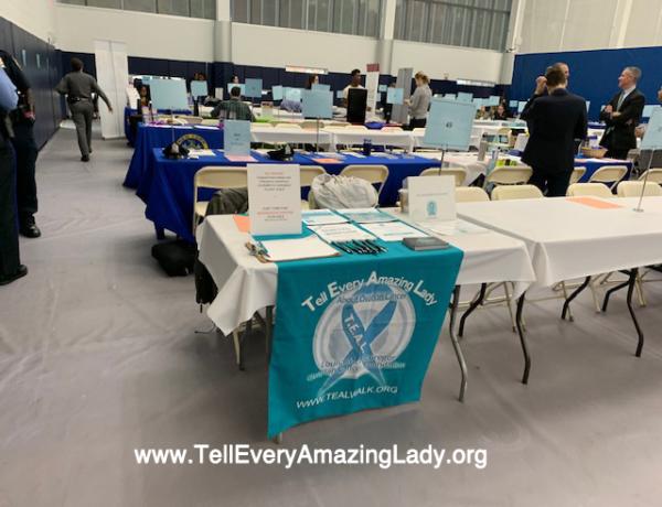 T.E.A.L.® attends St. Joseph College Career Expo