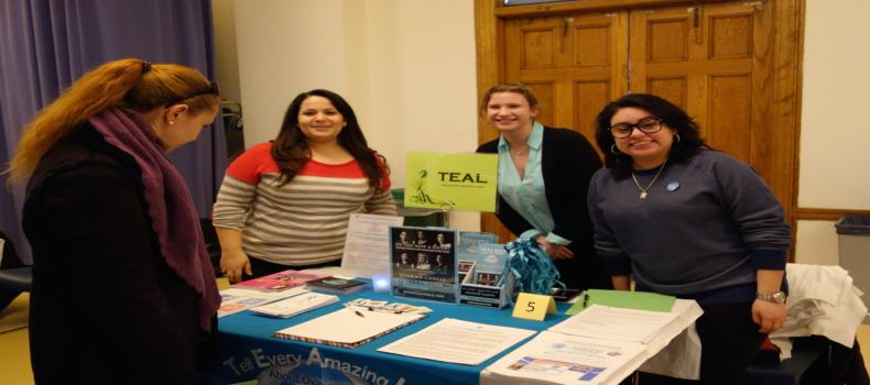 T.E.A.L. at St. Joseph's Health Fair