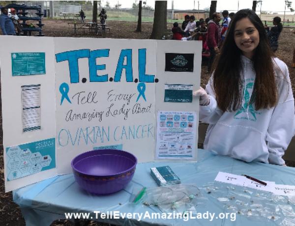 T.E.A.L.®'s Youth Ambassador at Indo-American Cultural Coalition & North Jersey Telugu Association Fall Festival Celebration