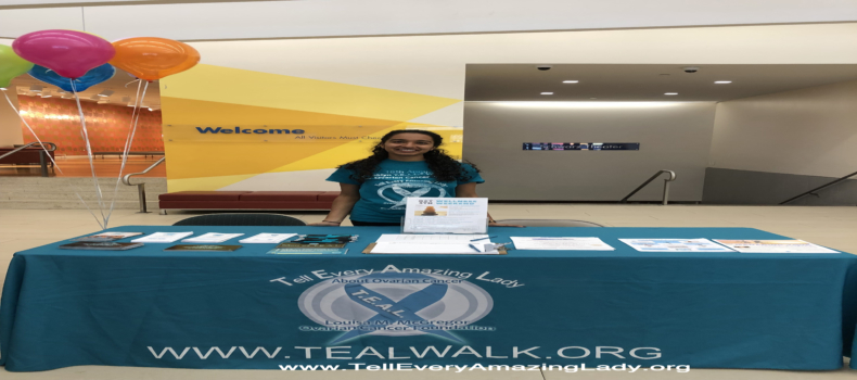 T.E.A.L.® participates in Ovarian Cancer Awareness Month event at SUNY College of Optometry